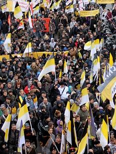 """Центр """"Сова"""": Украинский вопрос расколол движение русских националистов"""