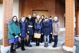 """Студенты межэтнической школы Саранска посетили """"Вельмему"""""""