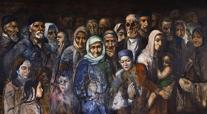 В Грозном открылась выставка картин северокавказских художников о депортации народов