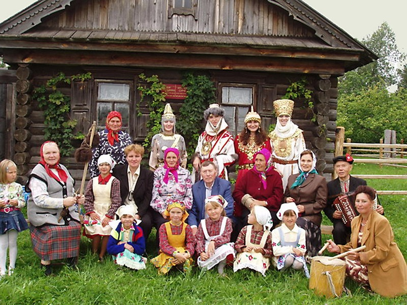 Семья по-чувашски