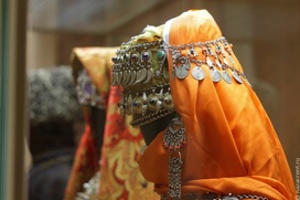 Национальные костюмы агульцев и горских евреев представили в Астрахани