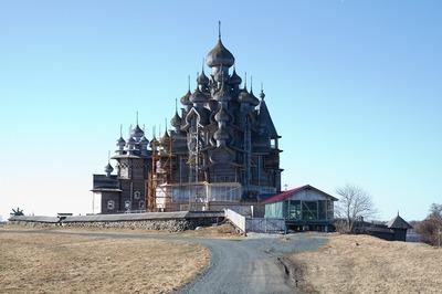 Церковь Преображения Господня готовят к открытию на острове Кижи