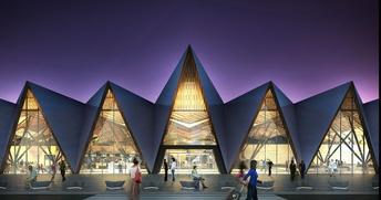 Британская компания построит аэропорт Нового Уренгоя в виде чумов