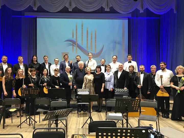Оркестр русских народных инструментов создали в Иркутской области