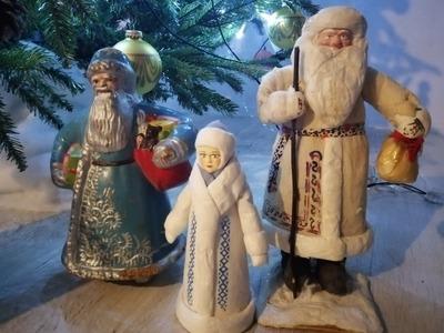 В Москве возродили производство ватных елочных игрушек