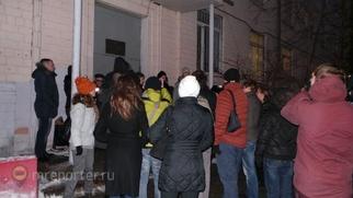 """В Москве """"Русские студенты"""" провели сход памяти зарезанного парня"""