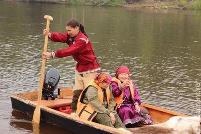 Рыболовные традиции хантов восстанавливали на фестивале в Югре