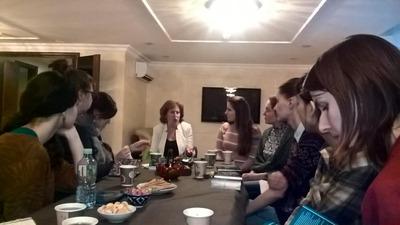 Студенты Школы межэтнической журналистики посетили еврейскую ФНКА