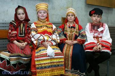 В Воронежской области пройдет конкурс детских фольклорных ансамблей
