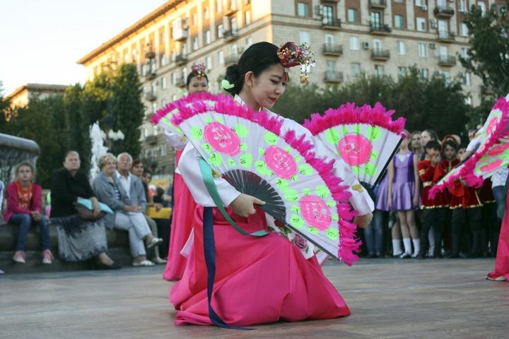 Фестиваль национальных культур в День города Волгограда