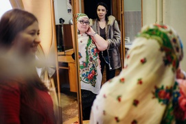 """В Уфе поставили документальный спектакль на башкирском языке """"Наши"""""""