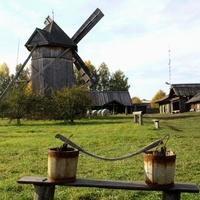 Этнографический музей под открытым небом в Козьмодемьянске (Республика Марий Эл)