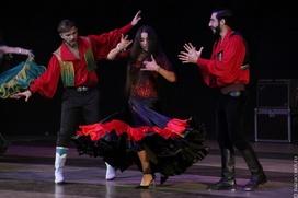 Цыганские песни и танцы представили жителям Пензы на вечере фольклора