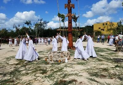 Якутское сэргэ установили в Мексике