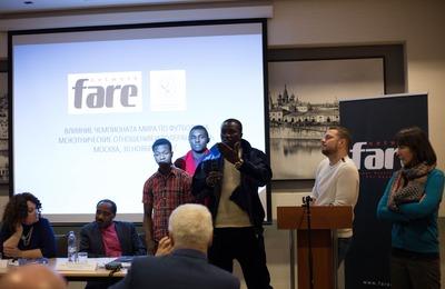 В Москве обсудили противостояние расизму на Чемпионате мира по футболу 2018 года