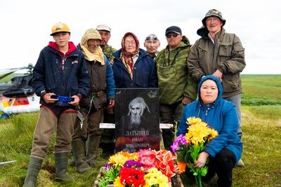 За полярным кругом установили памятник оленеводу-участнику Великой Отечественной войны