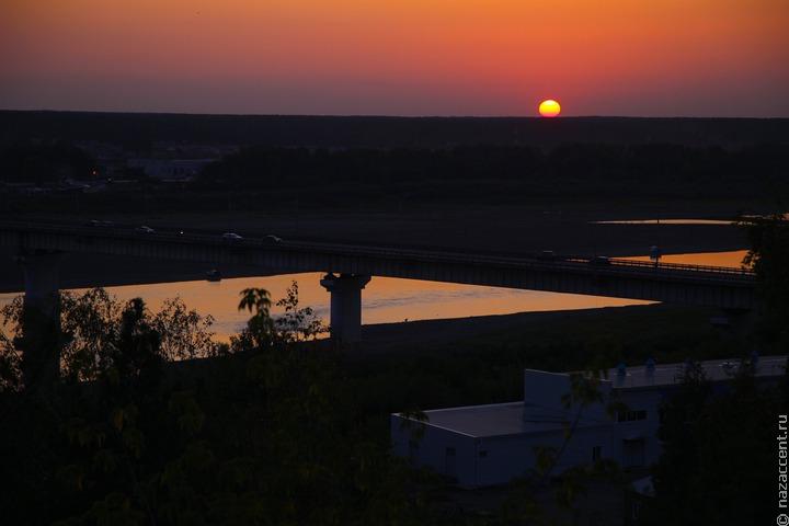 Сибирская река Томь