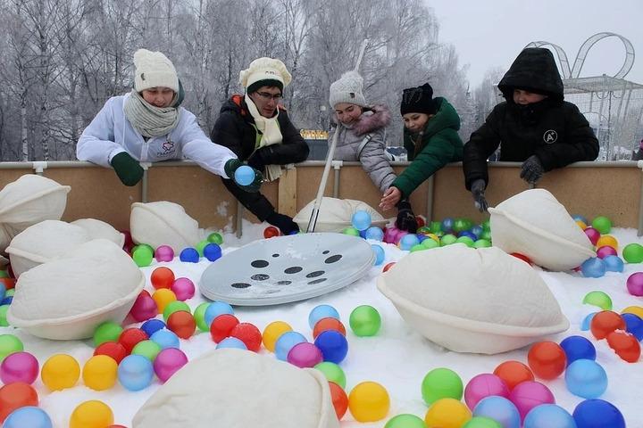 Жители Ижевска сыграют в старинные удмуртские игры во дворах города