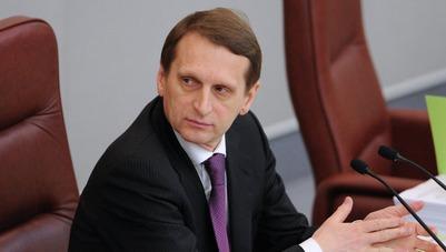 Нарышкин призвал следить за чистотой русского языка