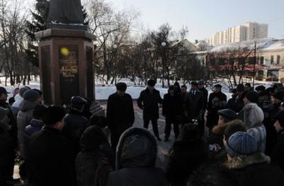 Узбекистанцы готовятся к митингу в Москве