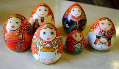 Матрёшка - расписной символ Воронежа