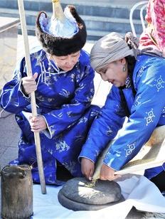 Прославлять просо будут на празднике урожая в Туве