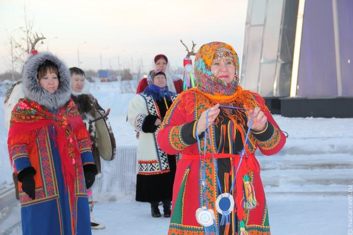 Отражающие культуру северных народов муралы появятся на фасадах домов на Ямале