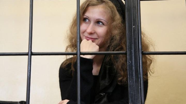 Участница Pussy Riot вышла из тюрьмы по амнистии