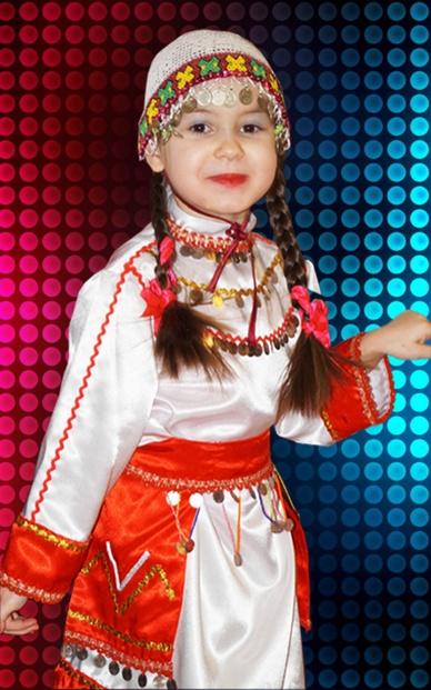 Детский чувашский костюм своими руками
