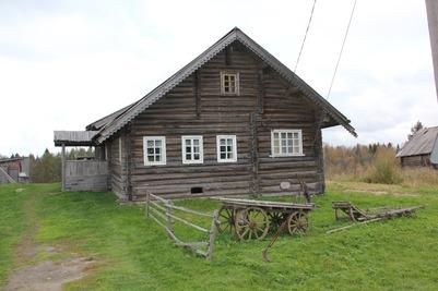 Карельская деревня Кинерма