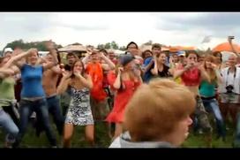 """Танец в большом кругу  на украинском этнофестивале """"Трипільське коло 2011"""""""