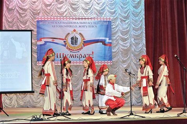 В Жигулевске презентовали мордовскую национально-культурную автономию