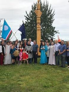Якутский сэргэ установили на Аляске