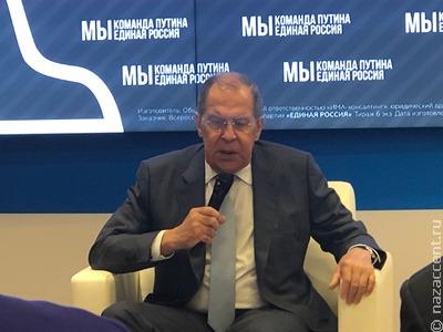 """Сергей Лавров поддержал идею конкурса """"СМИротворец-Евразия"""""""