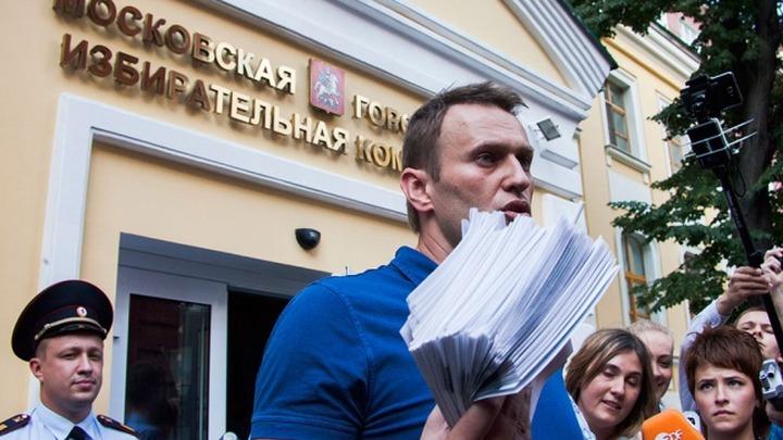 Кандидат в мэры Москвы Навальный провел закрытую встречу с представителями диаспор