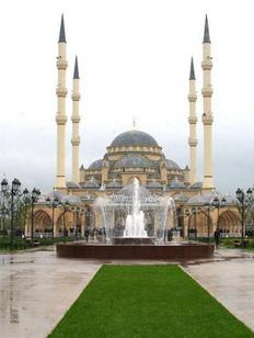 """Мечеть """"Сердце Чечни"""" стала лидером первого этапа конкурса """"Россия-10"""""""