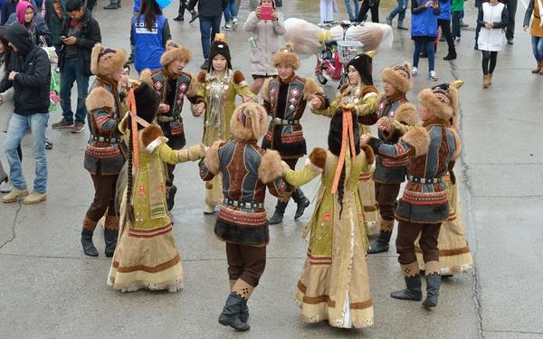 Якутские артисты станцуют осуохай на флешмобе в Москве