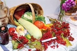 Белорусы Коми показали свои овощи на Дожинки
