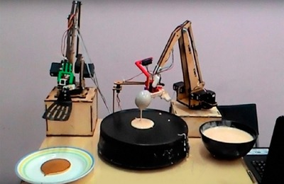 Кулинарное шоу робота-блинопека пройдет на ВДНХ