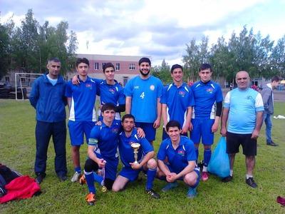Египтяне, русские и азербайджанцы победили на межнациональном футбольном турнире в Кирове