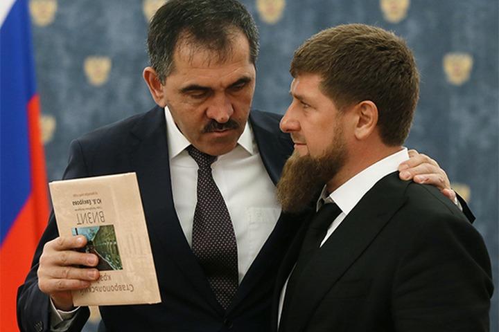 На медиафоруме в Грозном Кадыров и Евкуров высказались о решении суда по границе между республиками