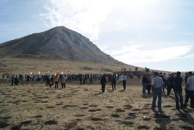 Жители Башкирии собирают подписи в защиту священных гор Юрактау и Торатау