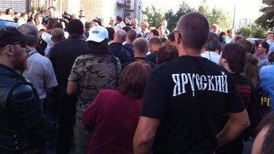 Несанкционированный народный сход в Санкт-Петербурге закончился для националистов арестами и штрафами