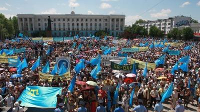 Зампред Меджлиса крымских татар подал заявку на митинг 18 мая