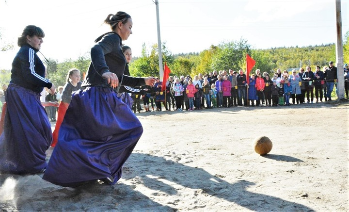 Турнир по женскому саамскому футболу выиграла команда из Колы