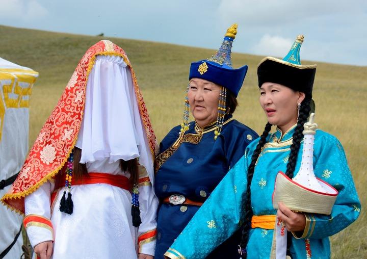 Свадьба в тувинских традициях