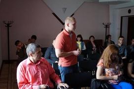 Украинские активисты в Крыму отметили День Конституции Украины