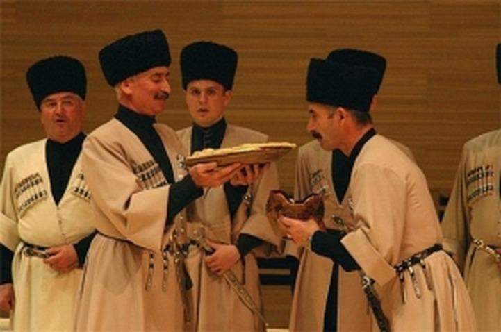 Осетины отмечают национальный праздник Джеоргуыба