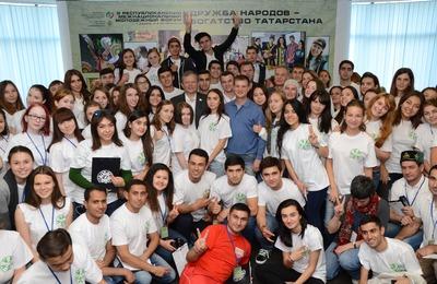 "В Татарстане сформируют свою команду КВН ""Дружба народов"""
