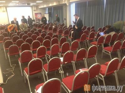 Форум националистов в Петербурге завершился звонком о бомбе
